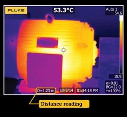 Fluke TiX560 Câmara Termográfica focagem LaserSharp