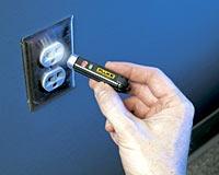 Lanterna/Detector de Tensão LVD1